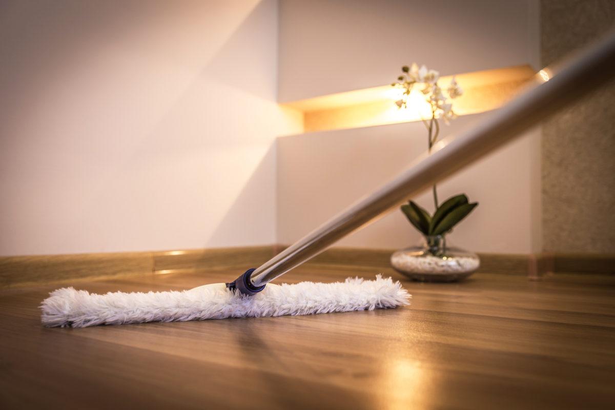 Come pulire il parquet in modo naturale